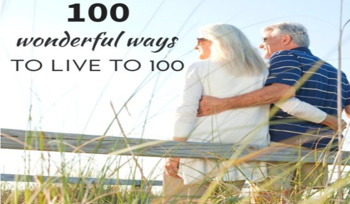 100 ways to live to 100. Click here