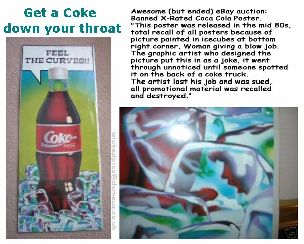 Coke Poster Banned