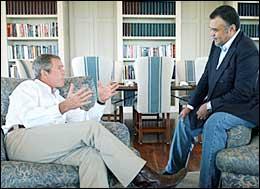 Bush In Love?