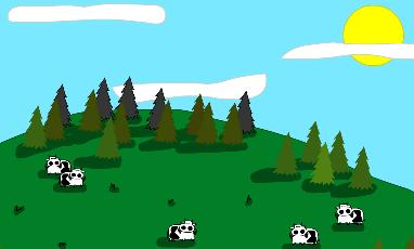 Cows With Guns. Click here to watch.