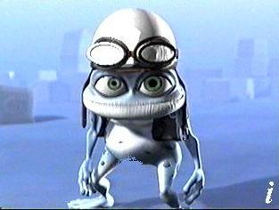 Click here to download the CRAZY FROG video~6MB