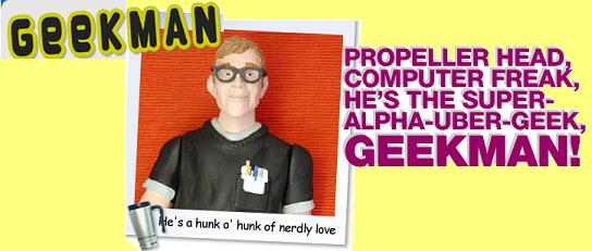 Geeky Superhero Flies into Stores!