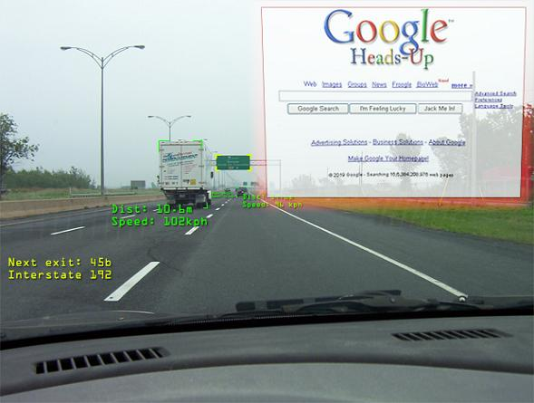 Google Heads-Up Display