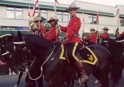 RCMP Musical Ride. Click Here!