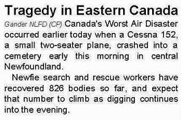 Newfie Search and Rescue!