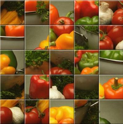 Veggie Slide Puzzle - Click here
