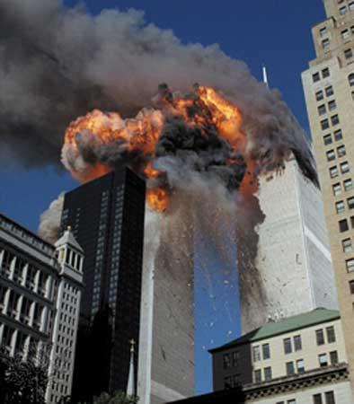 Trade Center Fire
